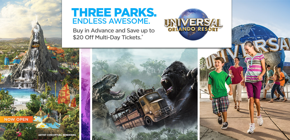Universal Orlando Tickets Orlando Welcome Center